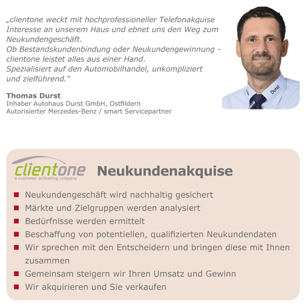 Clientone_Neukundenakquise
